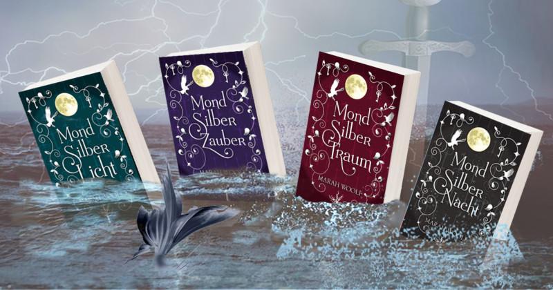 Mond Silber Licht Saga von Marah Woolf